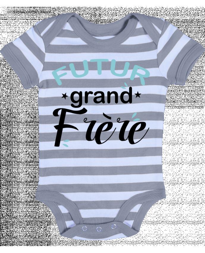 Body Bébé à Rayures Futur grand frère - Loni Tee