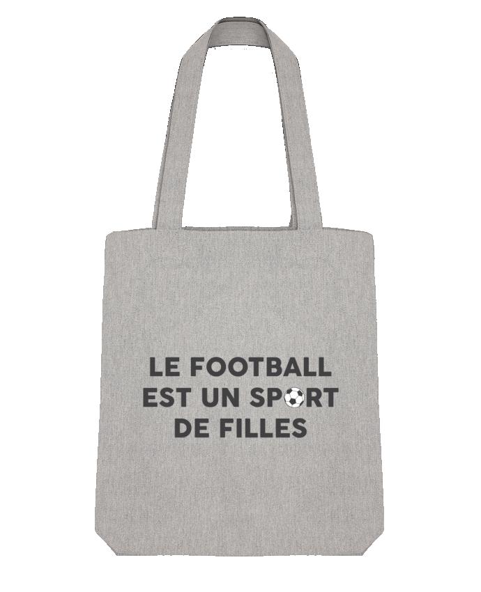 Tote Bag Stanley Stella Le football est un sport de filles par tunetoo