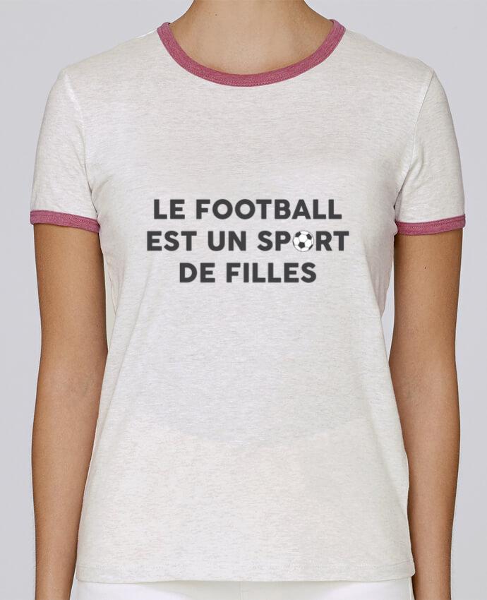 T-shirt Femme Stella Returns Le football est un sport de filles pour femme par tunetoo