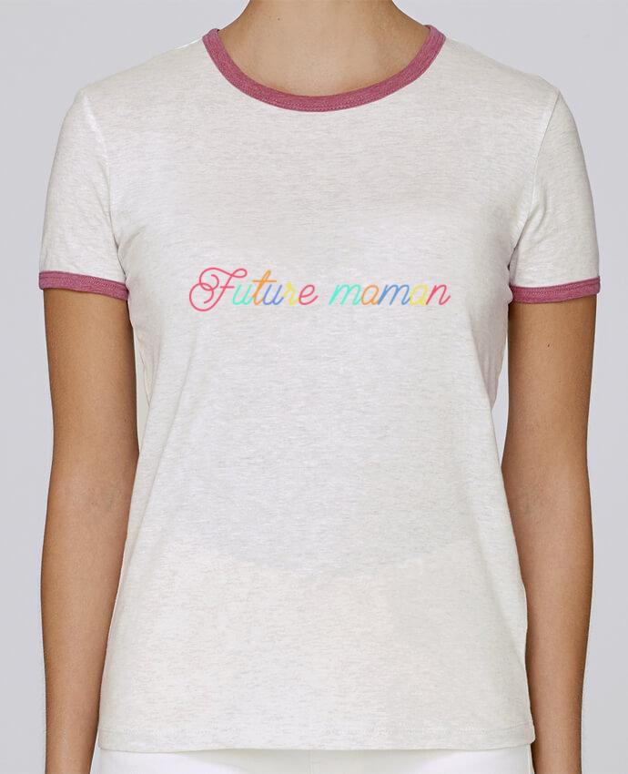 T-shirt Femme Stella Returns femme brodé Future maman par tunetoo