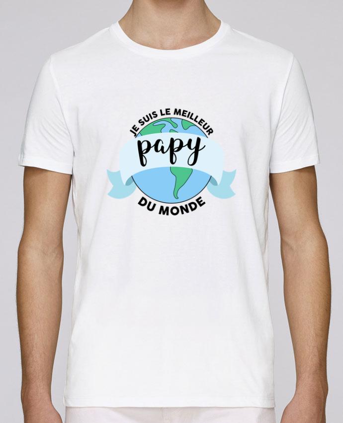 T-Shirt Col Rond Stanley Leads Je suis le meilleur papy du monde par tunetoo