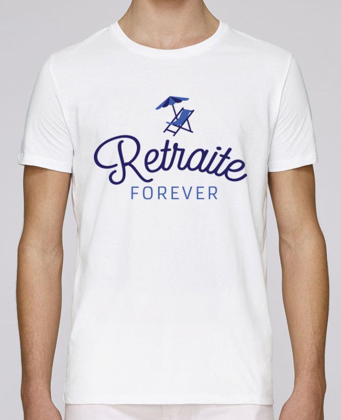 T-Shirt Col Rond Stanley Leads Retraite forever par Loni Tee