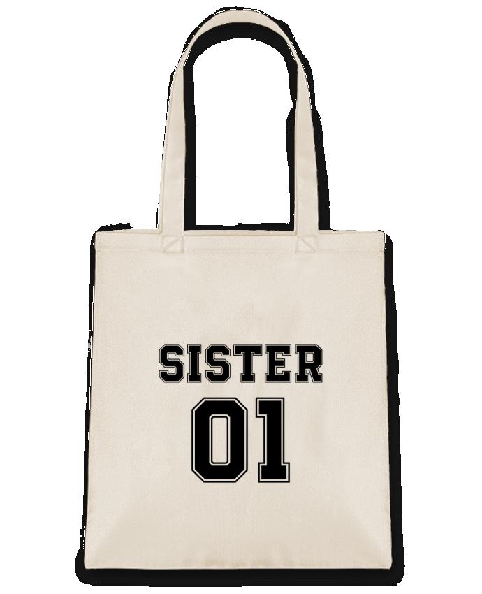 Sac en Toile Coton Sister 01 par tunetoo
