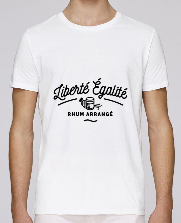 T-Shirt Col Rond Stanley Leads Liberté égalité Rhum Arrangé par Rustic