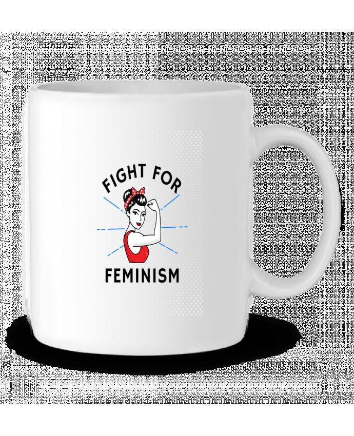 Mug en Céramique Fight for féminism par Vise Shine your life