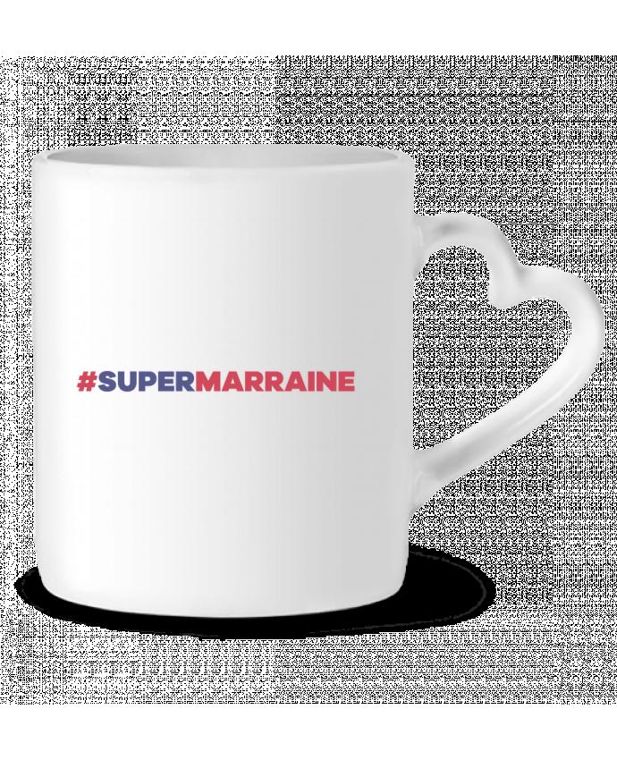 Mug Coeur #Supermarraine par tunetoo