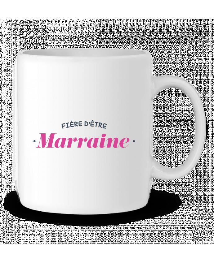 Mug en Céramique Fière d'être marraine par tunetoo