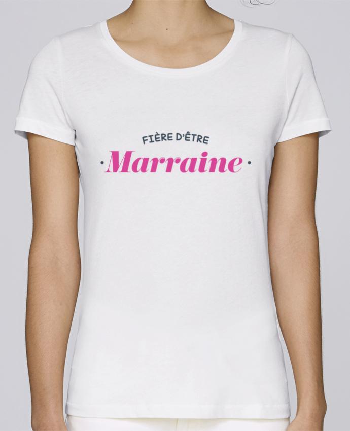 T-shirt Femme Stella Loves Fière d'être marraine par tunetoo