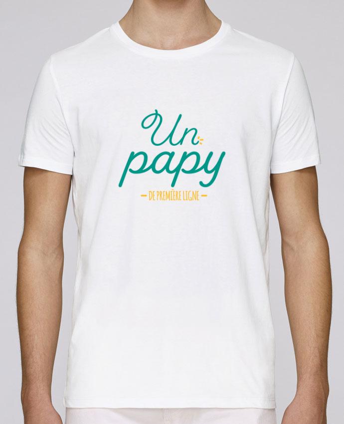 T-Shirt Col Rond Stanley Leads Un papy de première ligne par tunetoo