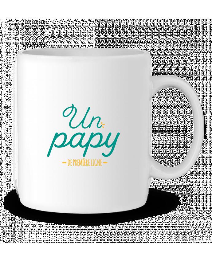 Mug en Céramique Un papy de première ligne par tunetoo