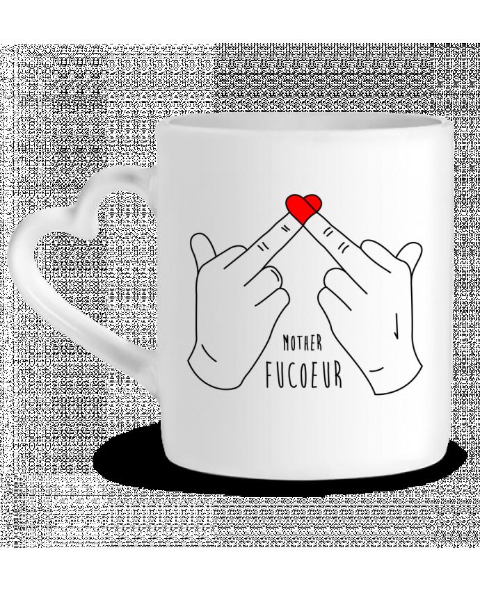 Mug Coeur Mother FuCœur par tunetoo