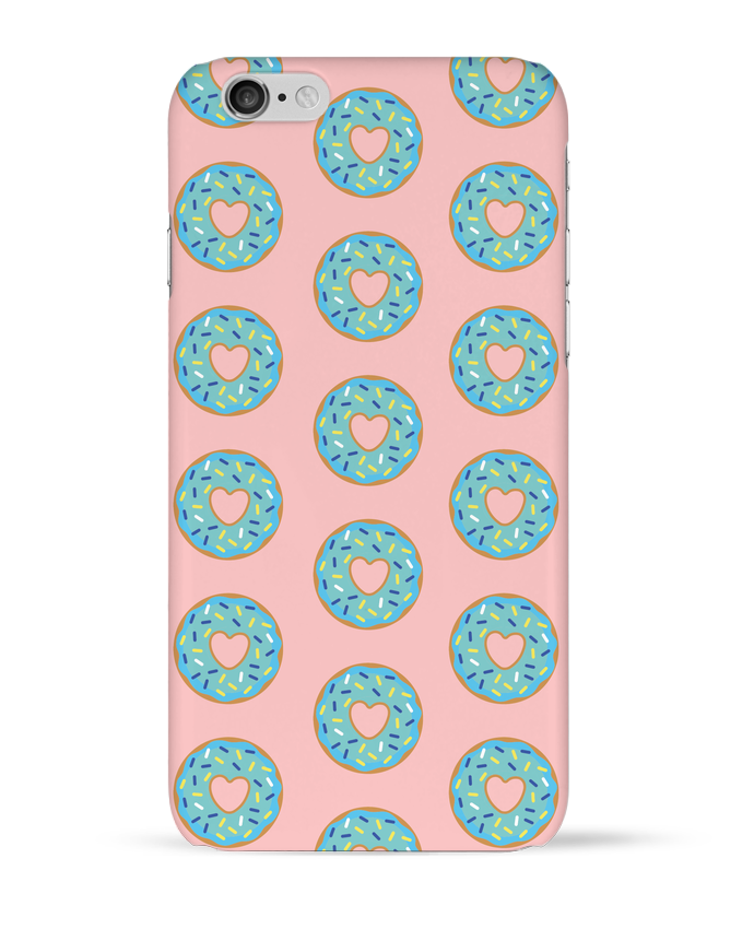 Coque 3D Iphone 6 Donut coeur par tunetoo
