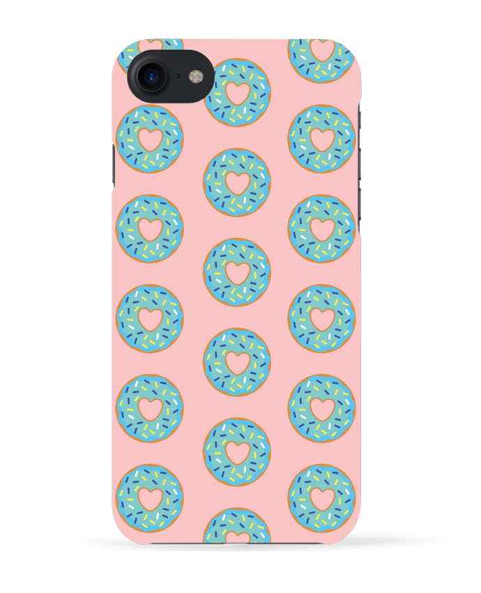 COQUE 3D Iphone 7 Donut coeur de tunetoo
