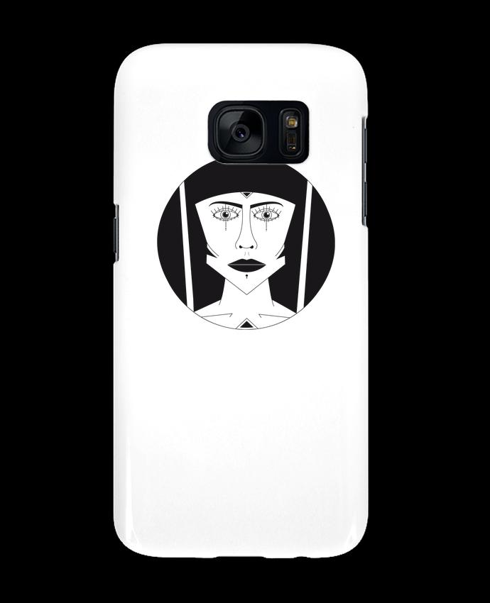 Coque 3D Samsung Galaxy S7 Visage géométrique par Ambrestr
