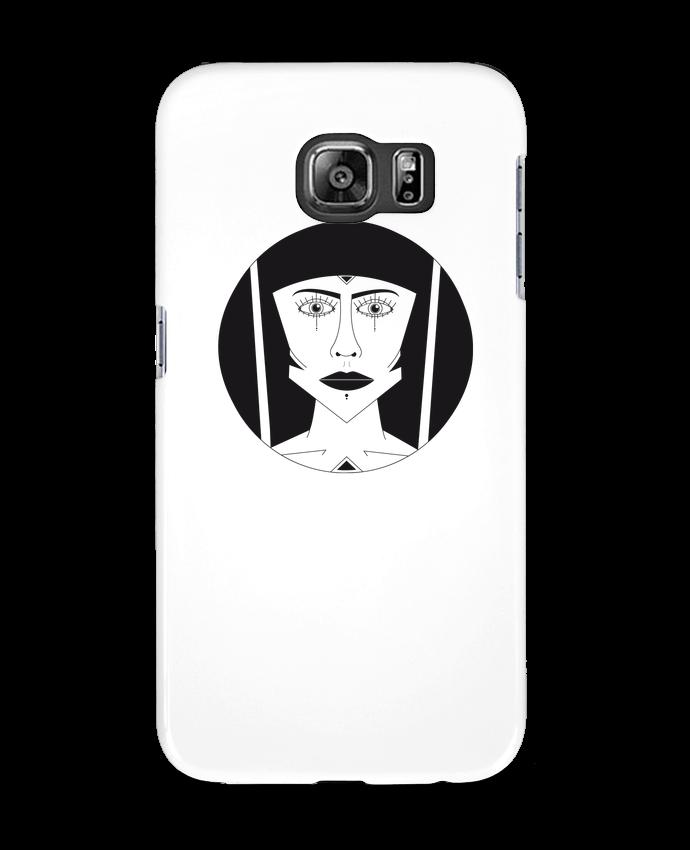 Coque 3D Samsung Galaxy S6 Visage géométrique - Ambrestr