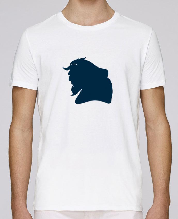 T-Shirt Col Rond Stanley Leads La Belle et la Bête par tunetoo