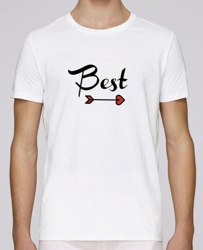 T-Shirt Col Rond Stanley Leads Best Friends par tunetoo