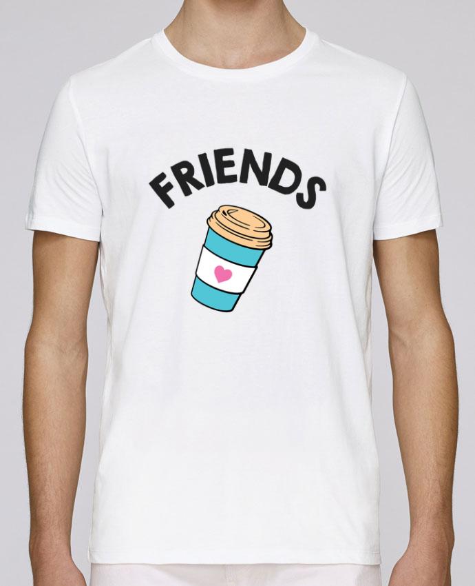T-Shirt Col Rond Stanley Leads Best Friends donut coffee par tunetoo