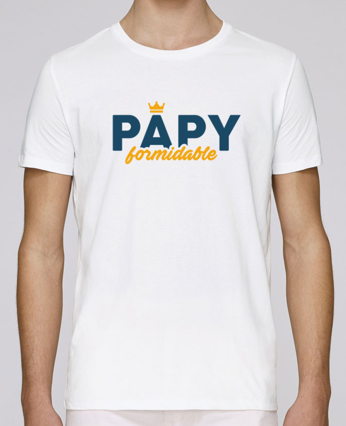 T-Shirt Col Rond Stanley Leads Papy formidable par tunetoo