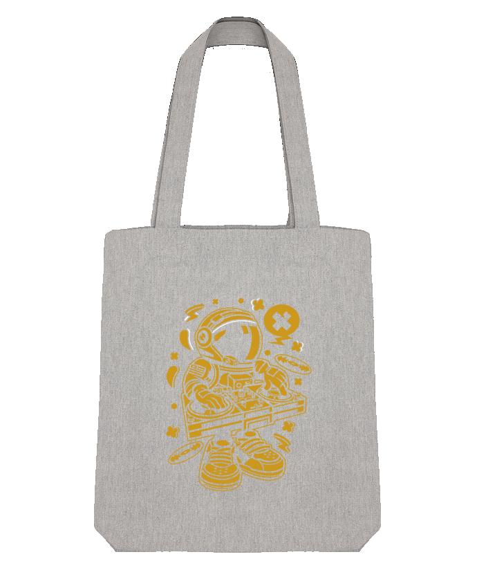Tote Bag Stanley Stella Dj Astronaute Golden Cartoon | By Kap Atelier Cartoon par Kap Atelier