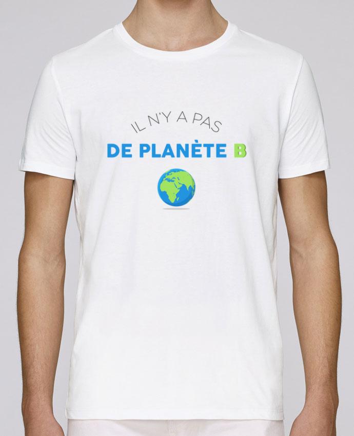 T-Shirt Col Rond Stanley Leads Il n'y pas de planète B par tunetoo