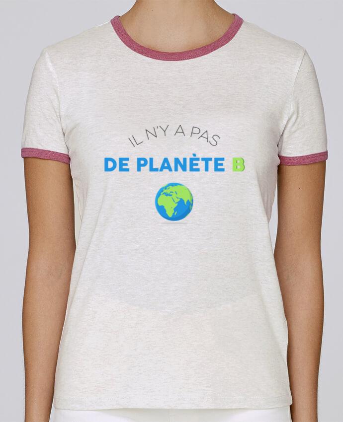 T-shirt Femme Stella Returns Il n'y pas de planète B pour femme par tunetoo