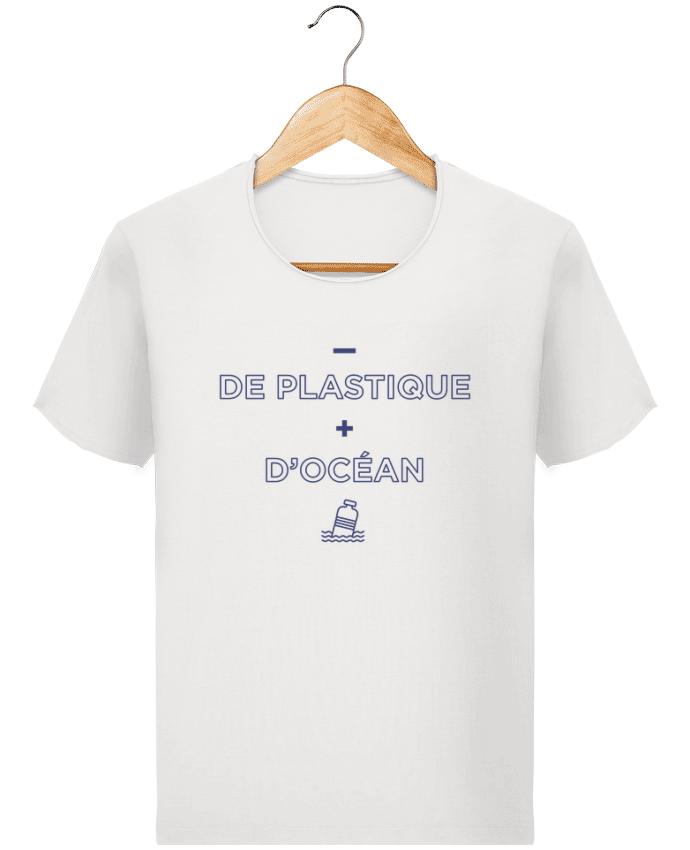 T-shirt Homme Stanley Imagines Vintage - de plastique + d'océan par tunetoo