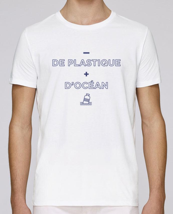 T-Shirt Col Rond Stanley Leads - de plastique + d'océan par tunetoo