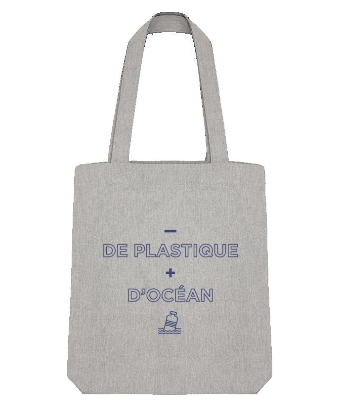 Tote Bag Stanley Stella - de plastique + d'océan par tunetoo