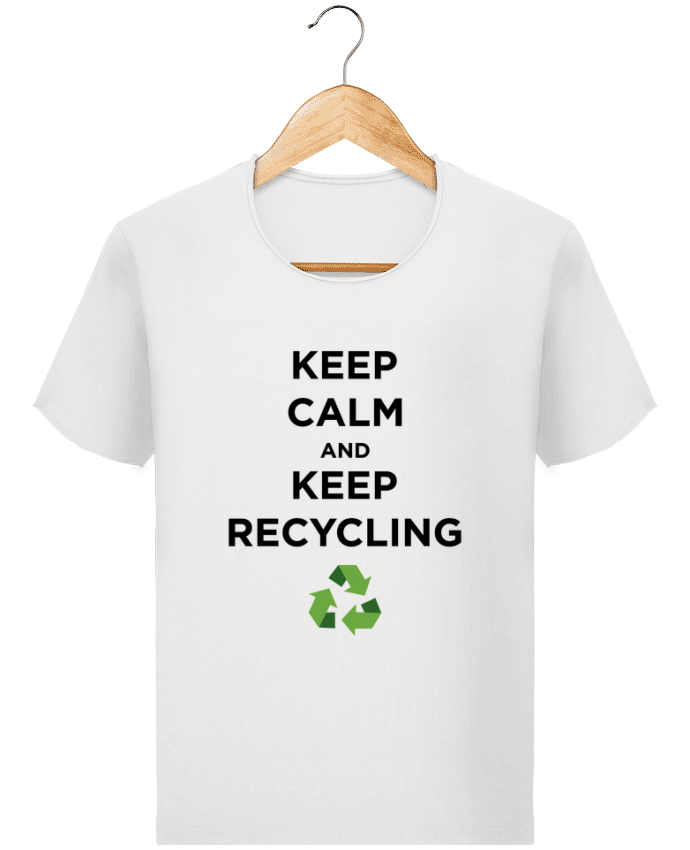 T-shirt Homme Stanley Imagines Vintage Keep calm and keep recycling par tunetoo
