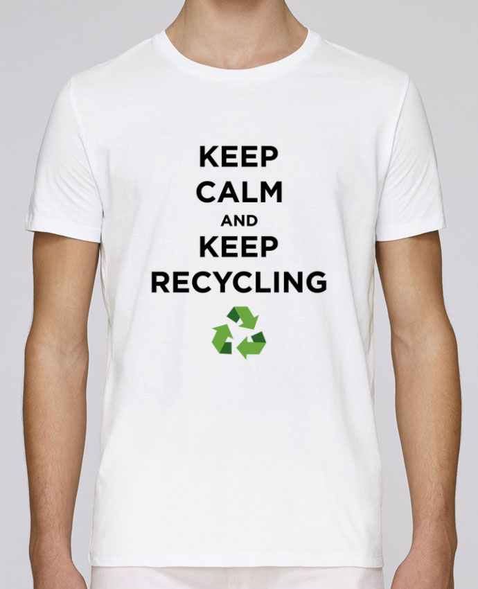 T-Shirt Col Rond Stanley Leads Keep calm and keep recycling par tunetoo