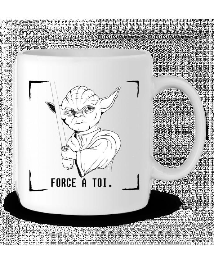 Mug en Céramique Maître Yoda par Paulo Makesart
