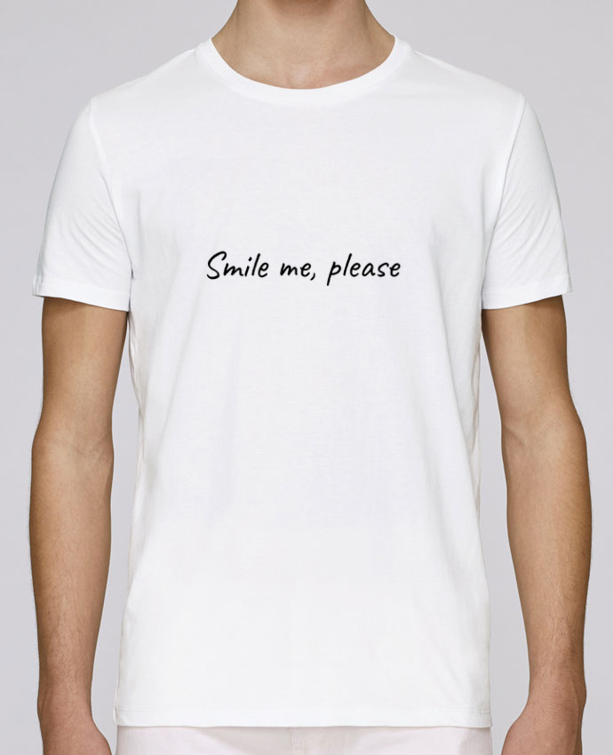 T-Shirt Col Rond Stanley Leads Smile me, please par Lumineuzidees