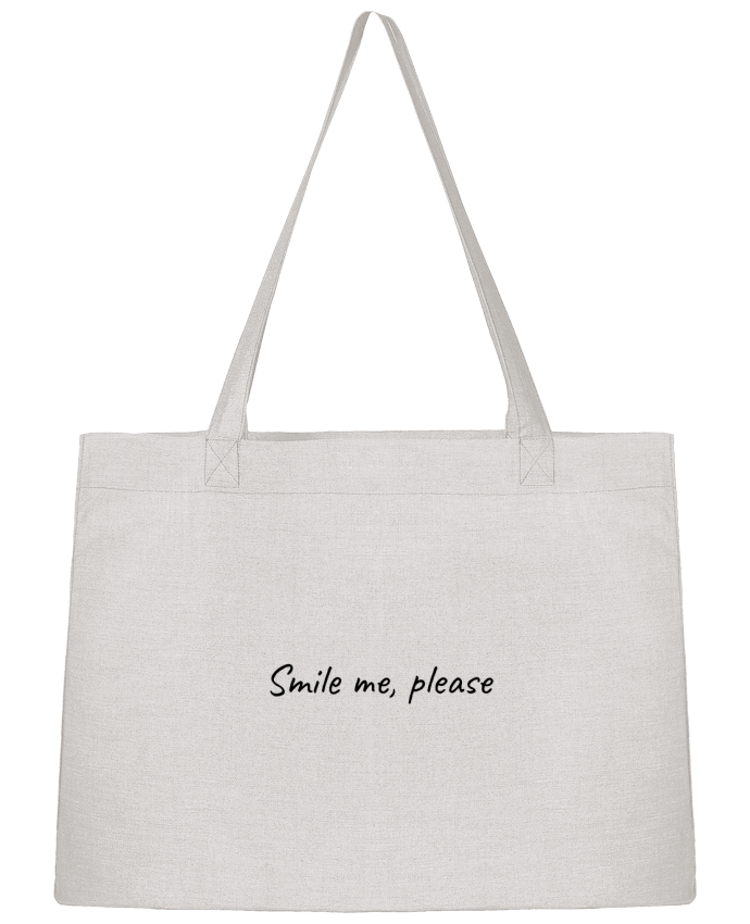 Sac Cabas Shopping Stanley Stella Smile me, please par Lumineuzidees