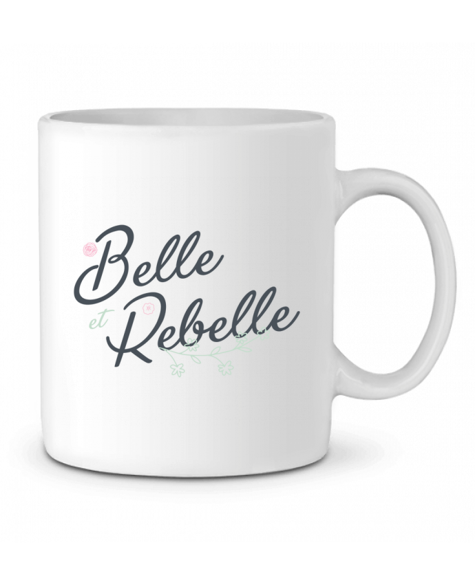 Mug en Céramique Belle et Rebelle par tunetoo