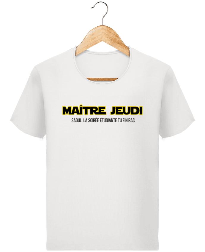 T-shirt Homme vintage Maître jeudi par tunetoo