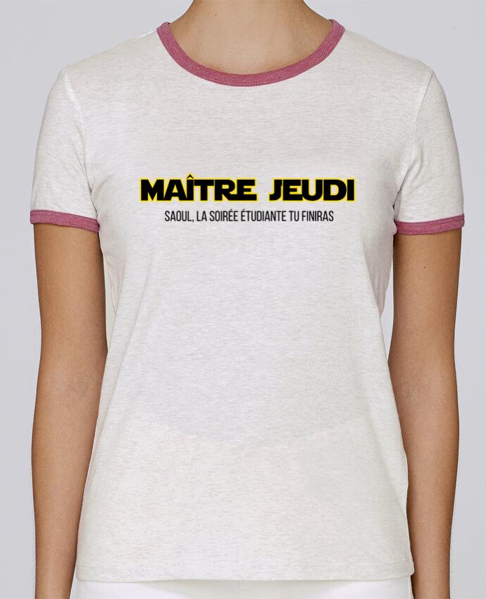 T-shirt Femme Stella Returns Maître jeudi pour femme par tunetoo
