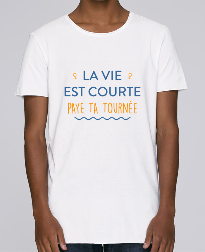 T-shirt Homme Oversized Stanley Skates La vie est courte paye ta tournée par tunetoo