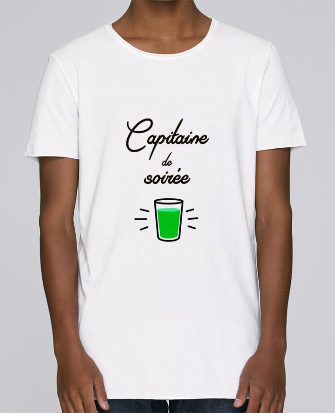 T-shirt Homme Oversized Stanley Skates Capitaine de soirée par Lamouchenoire38
