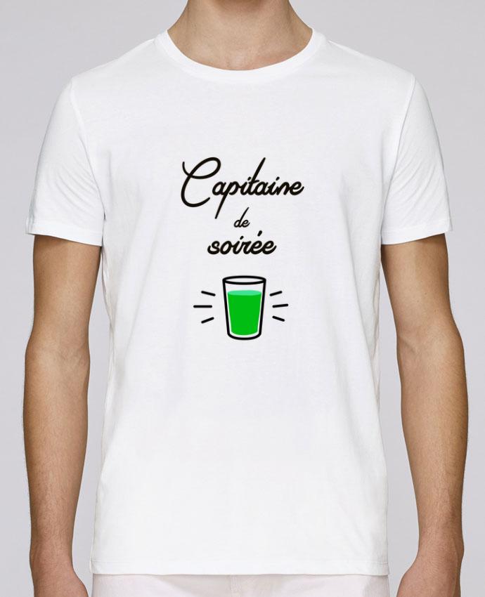 T-Shirt Col Rond Stanley Leads Capitaine de soirée par Lamouchenoire38