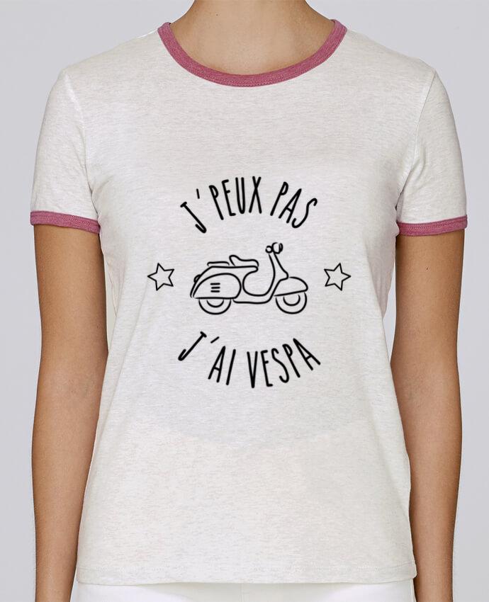 T-shirt Femme Stella Returns j'peux pas j'ai vespa pour femme par Lamouchenoire38