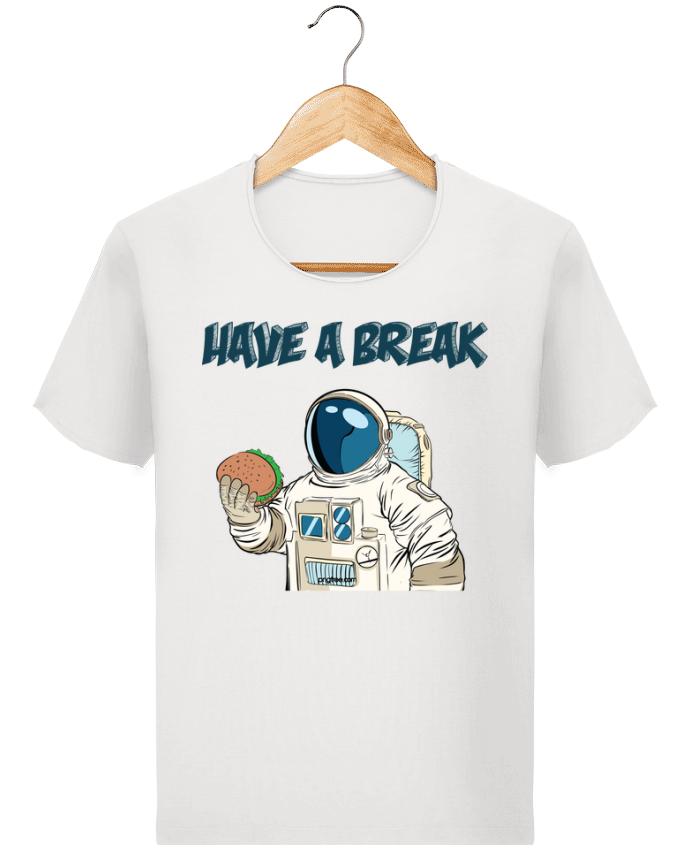 T-shirt Homme Stanley Imagines Vintage astronaute - have a break par jorrie