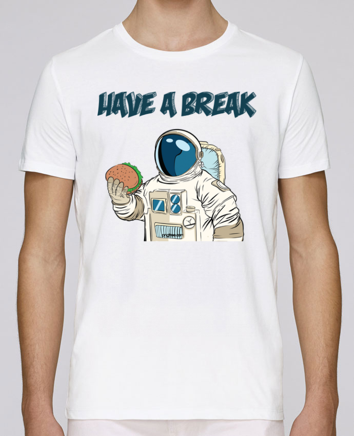 T-Shirt Col Rond Stanley Leads astronaute - have a break par jorrie