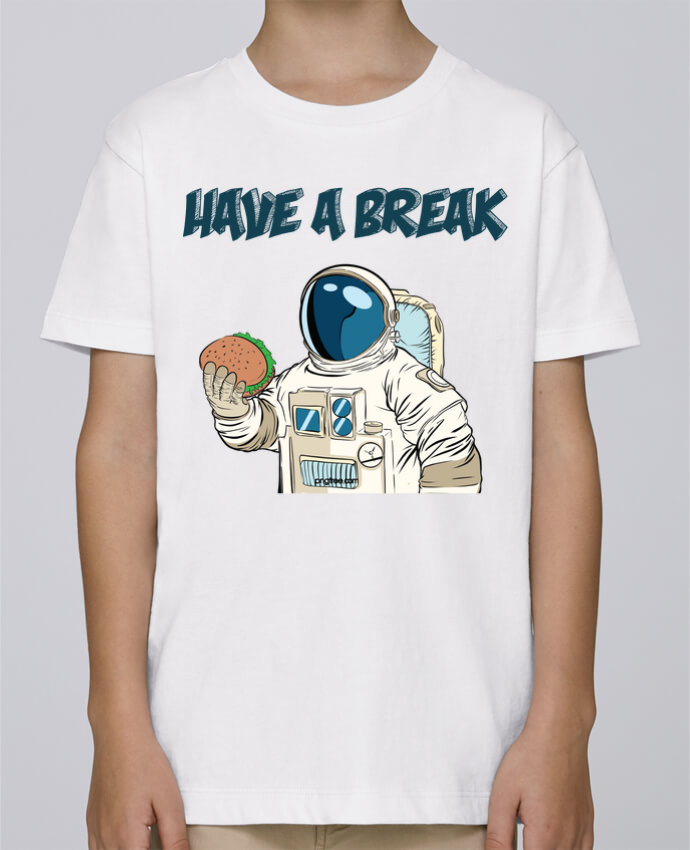 Tee Shirt Garçon Stanley Mini Paint astronaute - have a break par jorrie