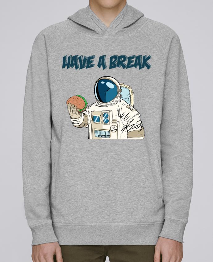 Sweat Capuche Homme Stanley Base astronaute - have a break par jorrie