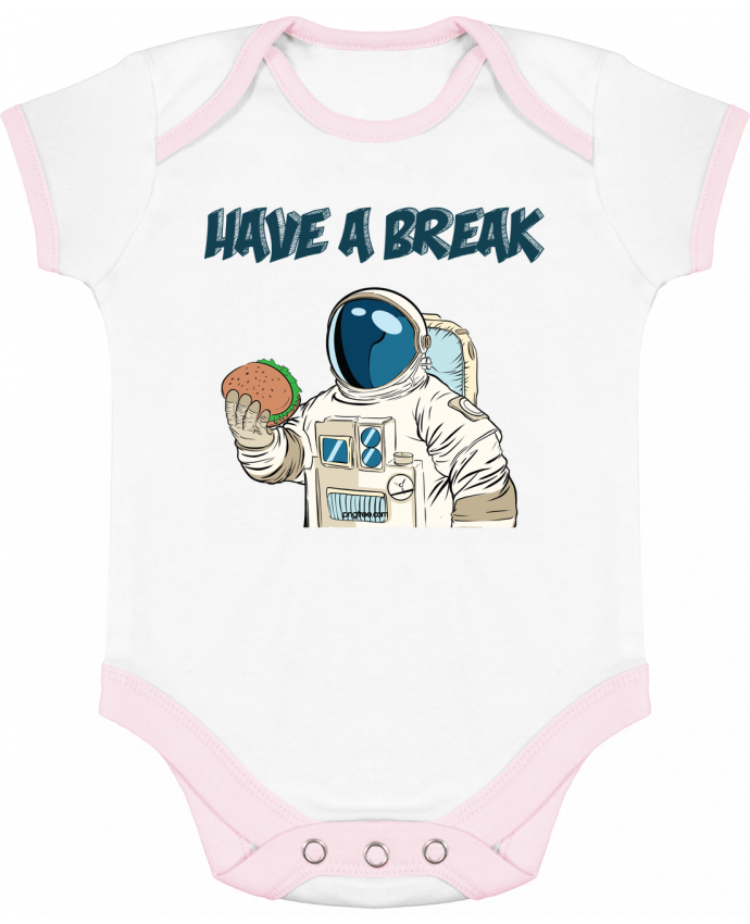 Body Bébé Contrasté astronaute - have a break par jorrie
