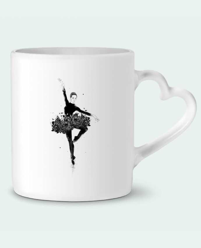 Mug Coeur Floral dance par Balàzs Solti