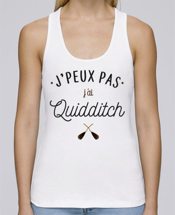 Débardeur bio femme Stella Dreams J'peux pas j'ai Quidditch par La boutique de Laura en coton Bio