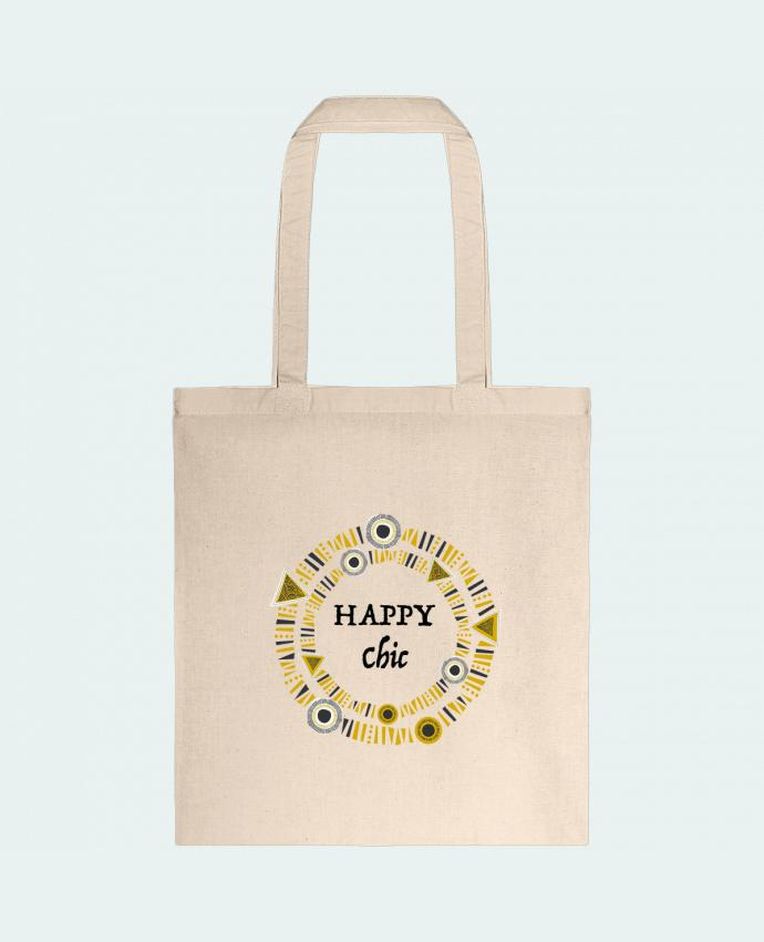 Sac en Toile Coton Happy Chic par LF Design