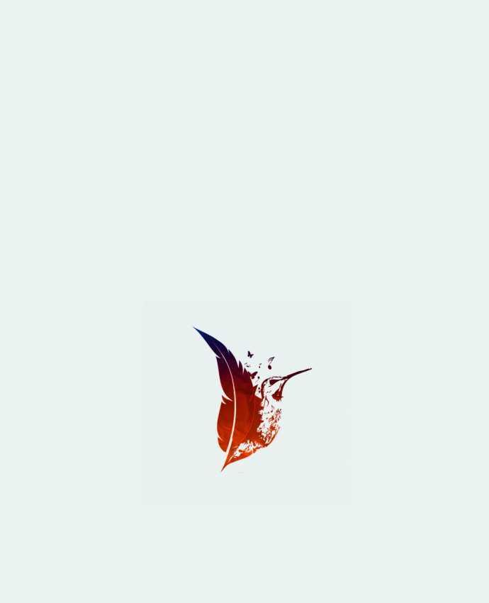 Sac en Toile Coton plume colibri par Studiolupi
